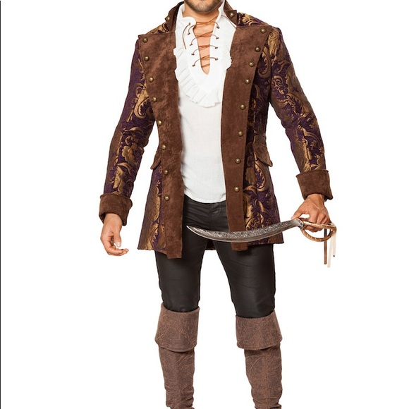 Roma Other - Men's brocade pirate costume